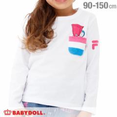 NEW ドラえもん FILA ロンT 1738K ベビードール 子供服 ベビーサイズ キッズ 男の子 女の子 キャラクター スポーティ(v30)