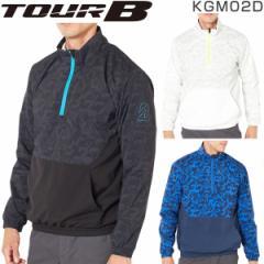 ブリヂストン ゴルフウェア メンズ TOUR B +3℃ ITEM ハーフジップ ブルゾン KGM02D 2018年秋冬モデル M-LL