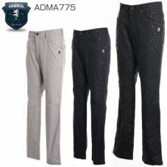 アドミラル ゴルフウェア メンズ エンボス テーパード ロングパンツ ADMA775 M-XL