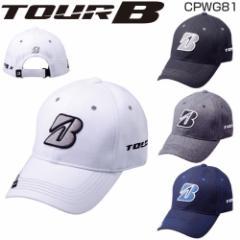 ブリヂストン ゴルフ TOUR B メンズ プロモデル キャップ CPWG81