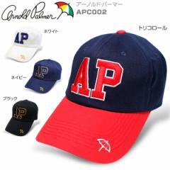 アーノルドパーマー メンズ APデカロゴ アメカジ キャップ APC002