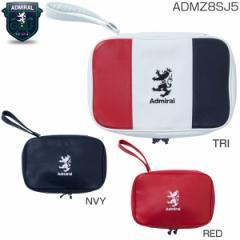 アドミラル ゴルフ 合皮 ラウンドポーチ ADMZ8SJ5