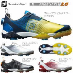 フットジョイ メンズ ゴルフシューズ FREESTYLE 2.0 Boa 2018年モデル
