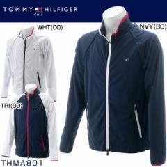 トミー ヒルフィガー ゴルフ メンズウエア 2WAY ウィンドジャケット THMA801 2018年秋冬モデル M-LL