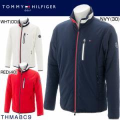 トミー ヒルフィガー ゴルフ メンズウエア ストレッチタフタ パデッド 中綿ジャケット THMA8C9 2018年秋冬モデル M-LL