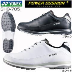 ヨネックス パワークッション 705 メンズ ゴルフシューズ スパイクレス SHG-705