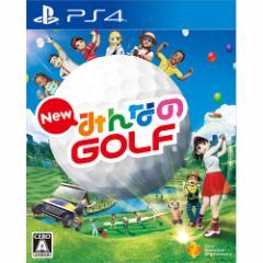 【新品】 New みんなのゴルフ  PS4 PCJS-50022 / 新品 ゲーム