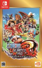 【新品】 ONE PIECE アンリミテッドワールド R デラックスエディション  Nintendo Switch HAC-P-ACL9A / 新品 ゲーム