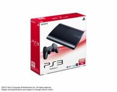 【中古】PS3 本体 (250GB) チャコールブラック CECH-4000B / 中古 ゲーム