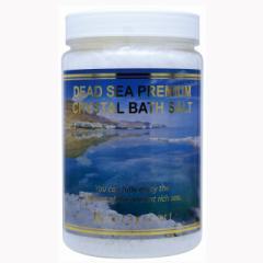 死海 の塩ですっきり ボディケア デッドシー プレミアムクリスタルバスソルト 950g  入浴剤