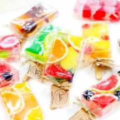 【クリスマスギフト】アイスキャンディの形がキュート リィリィ キャンディバーソープ プレゼント ギフト 誕生日 石鹸