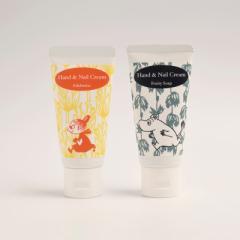 ムーミン ハンド&ネイルクリーム エーデルワイスの香り フルーティソープの香り