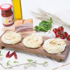 生パスタ 麺 3種セット 8食 フェットチーネ スパゲティ リングイネ ミックス モチモチ食感 詰め合わせ ポスト投函便