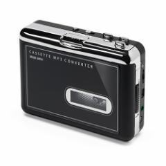 カセットテープ MP3変換プレーヤー デジタル化 コンバーター カセットプレーヤー [400-MEDI002]