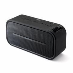 【送料無料】ポータブル Bluetoothスピーカー 防水&防塵 microSD再生 6W出力 ワイヤレススピーカー [400-SP069]