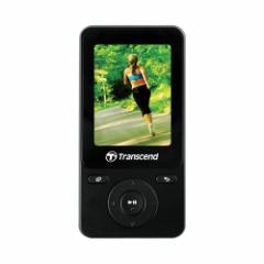 【送料無料】MP3プレーヤー Transcend MP710 8GB Gセンサー歩数計 FM予約録音 ボイスレコーディング ブラック [TS8GMP710K]