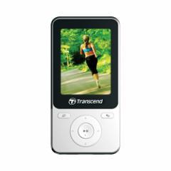 【送料無料】MP3プレーヤー 8GB 歩数計 FMラジオ録音 ボイスレコーダー デジタルオーディオプレーヤー[TS8GMP710W]トランセンド