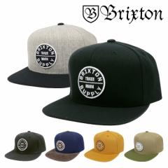 BRIXTON ブリクストン キャップ メンズ OATH 3 SNAPBACK CAP  帽子 スナップバック スケーター スケートブランド