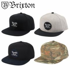BRIXTON ブリクストン キャップ メンズ WHEELER SNAPBACK 帽子 スナップバック スケーター スケートブランド スケボー