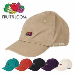 FRUIT OF THE LOOM(フルーツオブザルーム) キャップ メンズ レディース 帽子 ロゴ ローキャップ 人気 ブランド