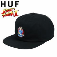 HUF ハフ キャップ メンズ レディース ストリートファイター2 CHUN-LI SNAPBACK HAT COPCOM チュンリー コラボ ゲーム