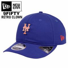 ニューエラ キャップ メッツ メンズ レディース 帽子 NewEra BADGED FAN RETRO NEYMET OTC RETROCROWN MLB メジャーリーグ ロゴ ニューヨ
