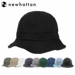 ニューハッタン テニスハット メトロハット バケットハット メンズ レディース 帽子 Newhattan Metro Hat Mens Ladies デニム ブラック