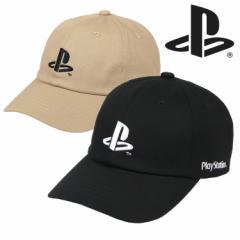 プレイステーション キャップ メンズ レディース PlayStation PS EMB LOW CAP 帽子 6パネルキャップ プレステ ゲーム