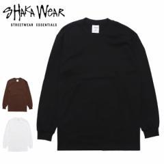 ヘビーウェイト ロンT 厚手 Shaka Wear シャカウェア 無地 7.5オンス メンズ 長袖Tシャツ ロングTシャツ 大きいサイズ ビッグサイズ オシ