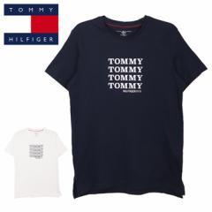 トミーヒルフィガー Tシャツ 半袖Tシャツ メンズ レディース TOMMY HILFIGER ブランド 立体プリント