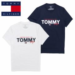 トミーヒルフィガー Tシャツ メンズ レディース TOMMY HILFIGER GRAPHIC SLEEP TEE 半袖 ブランド フラッグロゴ
