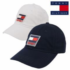 トミーヒルフィガー キャップ メンズ レディース 帽子 TOMMY HILFIGER TWILL FOR HATS ブランド 立体ロゴ SPORT スポーツ