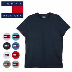 トミーヒルフィガー Tシャツ メンズ TOMMY HILFIGER フラッグロゴ ワンポイント 春夏 ファッション
