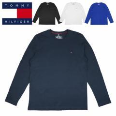 トミーヒルフィガー ロンT 長袖Tシャツ ロングTシャツ メンズ レディース TOMMY HILFIGER CORE FLAG LONG SLEEVE ミニフラッグロゴ ワン