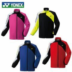 ヨネックス テニスウェア ウインドブレーカー メンズ レディース 裏地付ウィンドウォーマーシャツ 70063 YONEX rkt