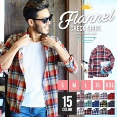 ネルシャツ チェックシャツ メンズ トップス 送料無料 trend_d roshell JIGGYS / コットンネルチェックシャツ