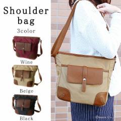 ショルダーバッグ レディース シンプル 大容量 多機能 機能性 斜めがけ 女性用 鞄 使いやすい 17004