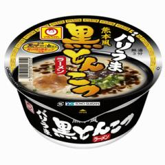 マルちゃん バリうま 熊本風黒とんこつラーメン 95g×12個 東洋水産 カップ麺 インスタント 即席 まとめ買い