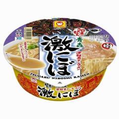 マルちゃん 日本うまいもん 青森津軽 煮干しラーメン 激にぼ 110g×12個 東洋水産 カップ麺 インスタント 即席 まとめ買い