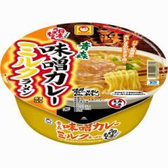 マルちゃん 日本うまいもん 青森 味噌カレーミルクラーメン 130g×12個 東洋水産 カップ麺 インスタント 即席 まとめ買い