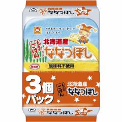 あったかごはん ななつぼし 200g×3個×8セット(合計24食分) 東洋水産 パックご飯 お米 レンジご飯 備蓄 まとめ買い