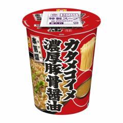 マルちゃん 本気盛 カタメコイメ濃厚豚骨醤油 113g×12個 東洋水産 カップラーメン カップ麺 まとめ買い 備蓄