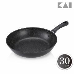 貝印 KAI フライパン 軽量 高熱効率フライパン IH対応 30cm DW5631 約802g