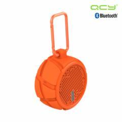 防水・防塵アウトドアスピーカー QCY-BOX2OR オレンジ