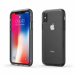 iPhoneX ケース iPhone X ACHROME SHIELD Premium CASE マットブラック