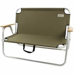 コールマン リラックスフォールディングベンチ オリーブ 2000033807 ベンチ アウトドア チェア キャンプ 椅子