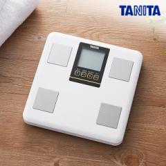 タニタ 体組成 計 体重 計 BC-LU01 白 立てかけ 収納 簡単 乗るだけで 計測 開始