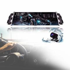 ドライブレコーダー/ROYAL MONSTER リアカメラ付きミラー型ドライブレコーダー/RM-3372 4562260633726 リアカメラ
