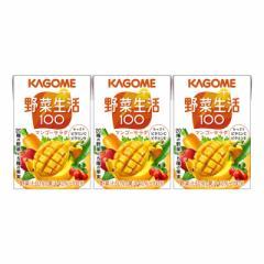 カゴメ 野菜生活100 マンゴーサラダ (100mL×3本)×12セット入り/計36本 1ケース