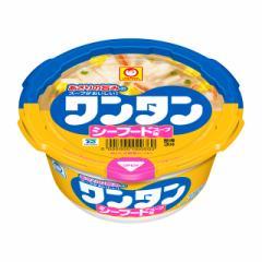 マルちゃん ワンタン シーフードスープ味 33g×12個 東洋水産 スープ インスタント ケース まとめ買い 備蓄